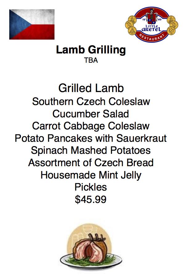 Lamb Grilling CZ